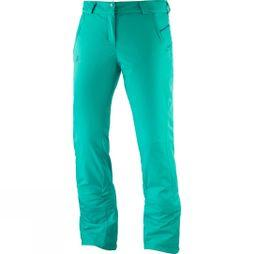 Salomon Womens Stormseason Pant Waterfall