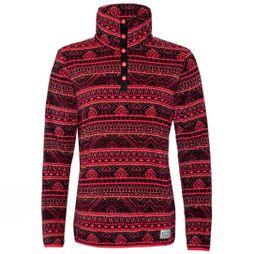 Protest Womens Oracle 1/4 Zip Top Granatina