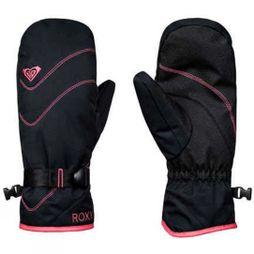 Roxy Womens Jetty Solid Mitts True Black