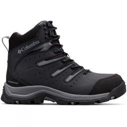 Columbia Mens GUNNISON II OMNI-HEAT Snow Boot Black/ Ti Grey