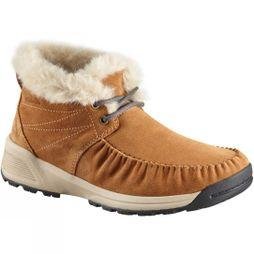 Columbia Womens Maragal Slip Wp Boot Elk/ Ancient Fossil
