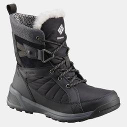 Columbia Womens Meadows Shorty Omni-Heat 3D Boot Black/ Steam