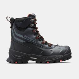 Columbia Womens Bugaboot Plus Iv Omni-Heat Boot Black/ Sunset Red