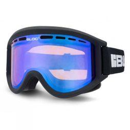 Bloc Aero Goggles Matte Black/Orange Revo