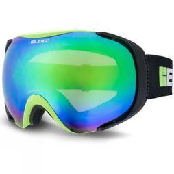 Bloc Mask  MK8 Goggles Matt Green Black/Brown Revo Green Mirror