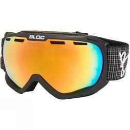 Bloc Boa Goggle Matt Black/Fire