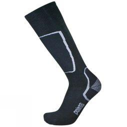 Point6 Mens Ski Light OTC Sock Black