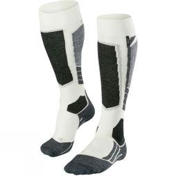 Falke Women's SK2 Cashmere Ski Socks White          /Patterned