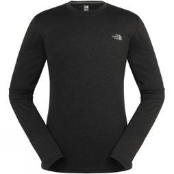 The North Face Men's Reaxion Amp Long Sleeve Crew TNF Dark Grey Heather
