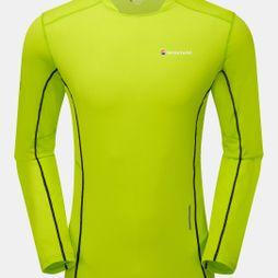 Montane Mens Razor Long Sleeve T-Shirt Laser Green