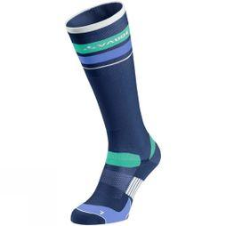 Vaude Bike Sock Long Sailor Blue/White