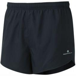 Ronhill Mens Everyday Split Shorts All Black