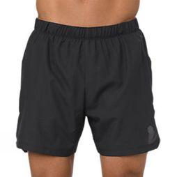 Asics Mens Cool 2in1 5in Short Performance Black