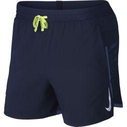 Nike Men's Air Flex Stride 5 Inch Short Obsidian/Volt