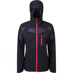 Ronhill Womens Infinity Nightfall Jacket Black/Reflect