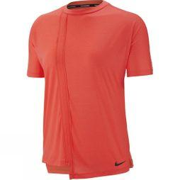 Nike Women's Rebel Short Sleeve Top Bright Crimson/Black