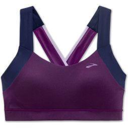 Brooks UpLift Crossback Sports Bra Navy/Heather Violet/Lilac