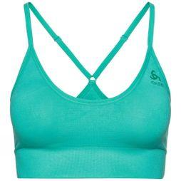 Odlo Padded Seamless Soft 2.0 Sports Bra Pool Green