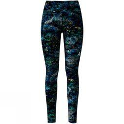 Odlo Women's Element Light AOP Tights Energie Blue Multi