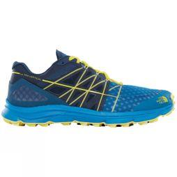 The North Face Men's Ultra Vertical Shoe Seaport Blue/Acid Yellow