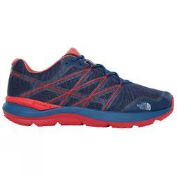The North Face Mens Ultra Cardiac II Shoe Shady Blue/High Risk Red