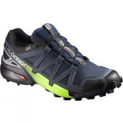 Salomon Speedcross 4 Nocturne GTX Shoe Navy Blazer/Ombre Blue/Lime Punch