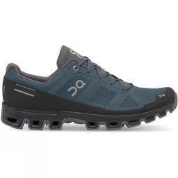 On Mens Cloudventure Running Shoe Shadow/Black