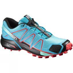 Salomon Womens Speedcross 4 Shoe Blue Jay/Black/Infrared