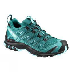 Salomon Womens XA Pro 3D Shoe Deep Peacock/Black/Ablue