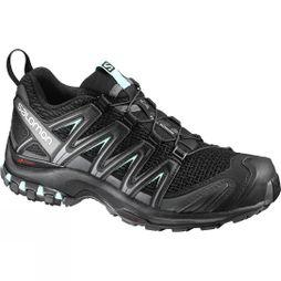 Salomon Womens XA Pro 3D Shoe Black/Magnet/Fair Aqua
