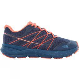 The North Face Womens Ultra Cardiac II Shoe Shady Blue/Nasturtium Orange