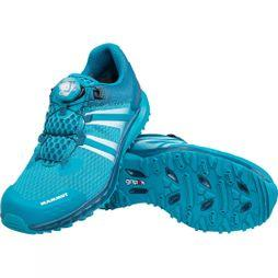 Mammut Womens MTR 201-II Boa Low Shoe Pacific/Dark Pacific