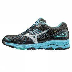 Mizuno Womens Wave Mujin 3 G-TX Shoe Dark Shadow/Silver/Norse Blue