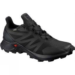 Salomon Womens Supercross GTX Shoe Black/Black/Black