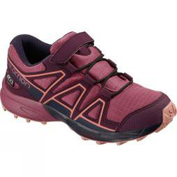 Salomon SPEEDCROSS CSWP K Malaga/Potent Purple/Desert Flower