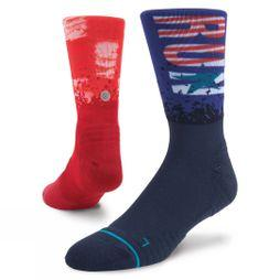 Stance Mens Charlestown Crew Sock Multi