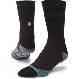 Stance Mens Uncommon Solids Wool Crew Socks Charcoal