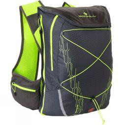 Ronhill Commuter Xero Vest 10+5L Charcoal/Flue Yellow