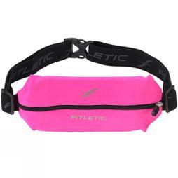 Fitletic Mini Lycra Belt Hot Pink/Black