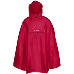Vaude Valdipino Poncho Indian Red