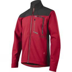 Fox Clothing  Mens Attack Fire Softshell Jacket Dark Red