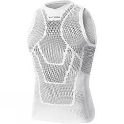 Altura Mens Dry Mesh Vest Baselayer White