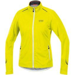 Gore Bikewear Womens Gore Tex Waterproof Jacket Neon Yellow/White
