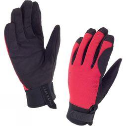 SealSkinz Dragon Eye Road Gloves Black/Red