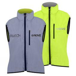 Proviz Women's Switch Gillet  Reflective/Yellow