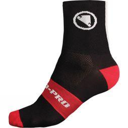 Endura Mens FS260-Pro Socks (Twin Pack) Black