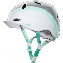 Bern Womens Berkeley Helmet Satin White Multi