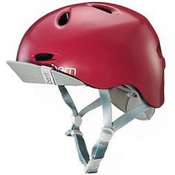 Bern Womens Berkeley Helmet Satin Cranberry