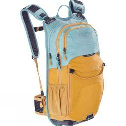 Evoc Stage 12L Performance MTB Back Pack Aqua Blue/Yellow