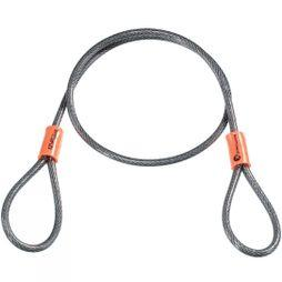 Kryptonite Krypto Kryptoflex Cable 2.5ft Dk Grey        /Orange